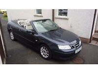 saab 9-3 1.8t linear convertible(lovely car,only 1 previous owner)