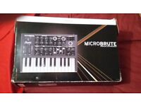 Arturia Micro Brute Synthesizer - Excellent Condition with Original Box/Cables. Please read the ad.