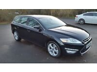 Ford Mondeo 2.0 TDCi Titanium X 5dr Estate after face-lift top of the range. 2011 (60 Plate)