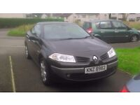 nov 2007 renault megane convertible with service history