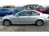 bmw 318 i coupe parts 2005 silver