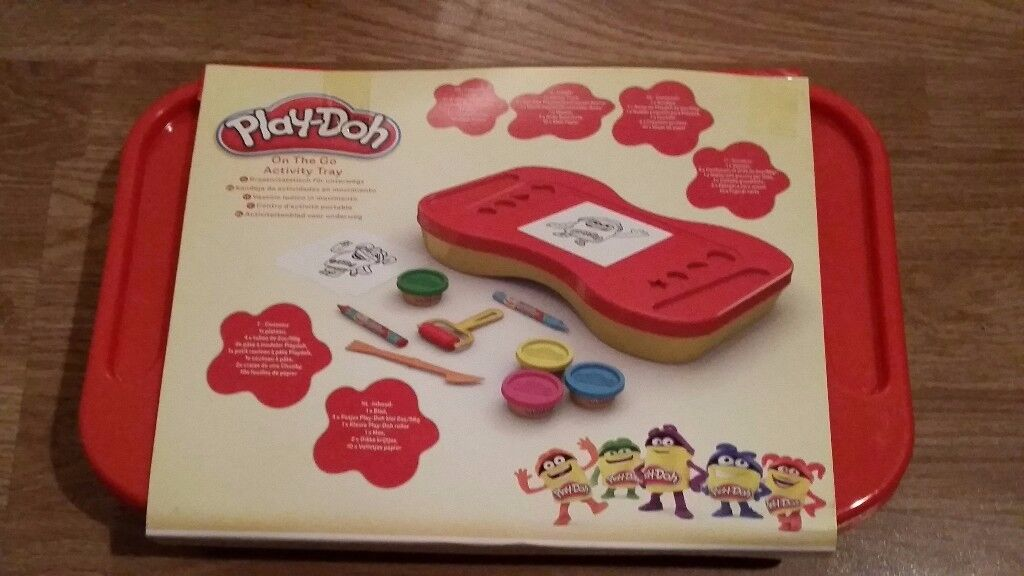 Play Doh on The Go Activity Tray