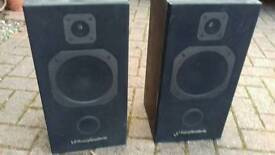 Two Wharfedale speakers for sale