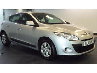 2010 10 RENAULT MEGANE 1.6 EXPRESSION VVT 5D*PART EX WELCOME*2 YEARS WARRANTY*FINANCE AVAILAB