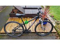Medium sized cheap unisex mountain bike