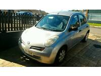 Nissan Micra 2005 - Silver - Very Low Mileage