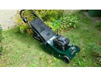IMACULATE HAYTER HARRIER 48 rear roller bbc self drive briggs and Stratton 5hp