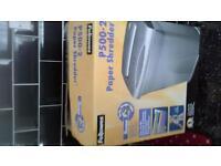 fellowes p500-2paper shredder for sale £10
