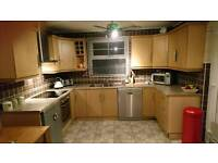 Beech kitchen includes all appliances (dish washer not included)