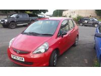 2006 56 plate honda jazz 1.2 5dr low miles 63000 years mot not civic focus corsa px welcome