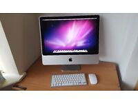 "Apple iMac 20"" El Capitan 8GB RAM 1TB Hard Drive"
