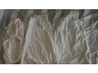 Baby Sleeping Bags x2 and Swaddle Blanket