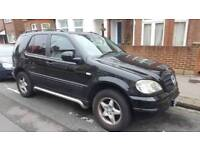 Mercedes ml 2.7 d full sevice history