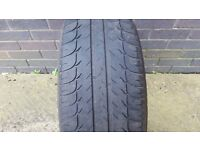 215 55 16 BF Goodrich G-Grip part worn tyre 4-3.50mm