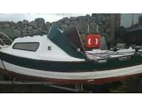 17ft sea nymph fishing boat 8hp yamaha