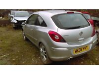 2006-2010 CORSA 1.2 TWINPORT BREAKING FOR SPARES PARTS