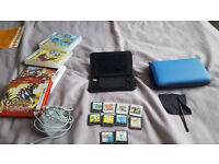 Nintendo 3ds xl for sale £140 with 10 games including Pokemon Omega Ruby