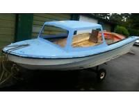 14 ft dejon cabin boat