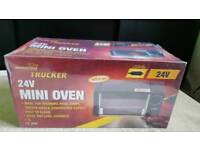 trucker 24v mini oven for caravan or lorry
