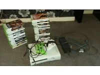Xbox 360 Console. Connect and 40+ Games. Contoller Etc