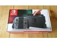 Nintendo Switch Grey boxed as new