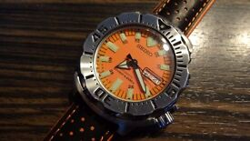 SEIKO ORANGE MOSTER DIVERS WATCH AUTOMATIC FIRST GENERATION SKX781