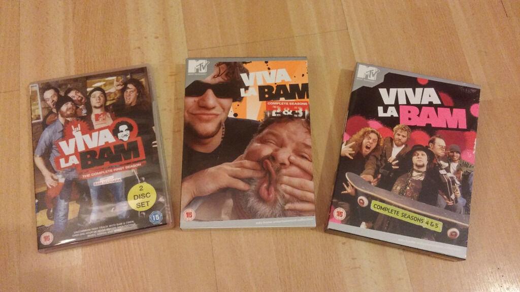 Viva La Bam - Series 1 - 5 DVDs - Complete Set - Bam Margera   in Cameron Toll, Edinburgh   Gumtree