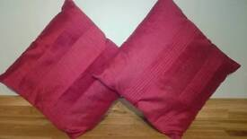 Red cushions for sale