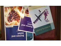 Romeo & Juliet GCSE book, companion guide and workbook