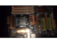 Biostar T-Power X58 Motherboard and Intel Xeon W3550 CPU (spares and repairs only)