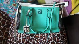 Calvin Klein handbag.
