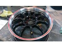Genuine Advan RS-Ds Alloy Wheels 17inch Immaculate Condition!, Honda, Mitsubishi, Nissan, Toyota