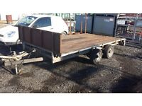 Ifor williams trailer 12ft x 6ft 6