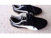 Puma football boots, size 5 (38)