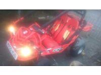 Xingling 150 buggy road legal