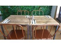 Restaurant/Cafe Tables and Chairs