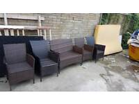 Set of garden chairs CHEAP