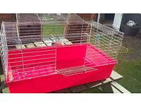 Rabbit Hutch Transport Enclosure