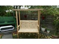 Beautiful pine hand made garden chairs