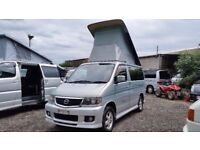 2002 Mazda Bongo AERO FULL NEW SIDE CONVERSION 4 BERTH 2.5 V6 AFT CAMPERVAN LOW MILEAGE RUST FREE