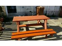 Picnic tabel