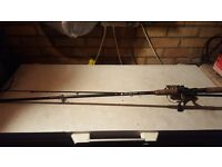 8ft Spining rod and reel with braid