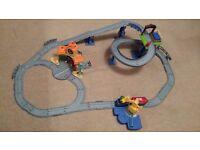 Chuggington Interactive Train Track Set lights and sounds
