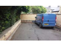 Off street parking space for one car or van near Mill Road