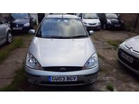 Ford focus 2003. 1.6L petrol 91 warranted mileage 2 former keepers. Excelllant car no faults.
