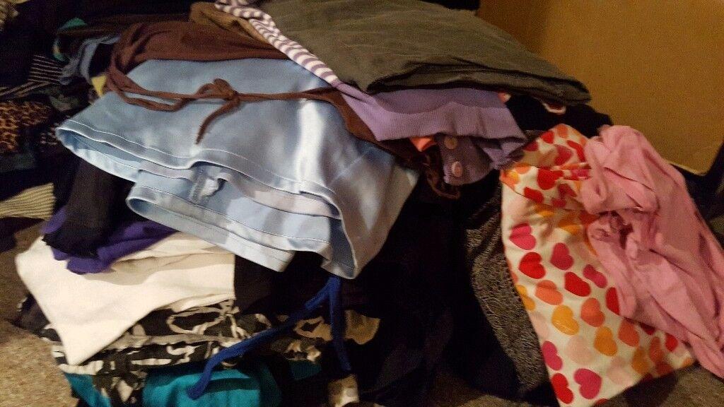 size 10 large ladies bundle of clothes