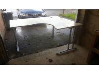 Large Height-Adjustable Office Desk