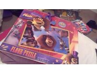 Madagascar Jigsaw 45 pieces floor puzzle