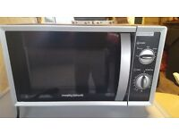 microwave bought new only used for 6 months now in storage good condition