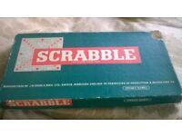 1950s scrabble game